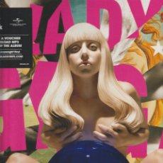 Discos de vinilo: LADY GAGA – ARTPOP SELLO: STREAMLINE RECORDS – 00602577517051, INTERSCOPE RECORDS – 0060257751705. Lote 293732418