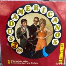 """Discos de vinilo: LOS 3 SUDAMERICANOS - GIBRALTAREÑA / CUANDO SALI DE CUBA (7"""", SINGLE). Lote 293733868"""