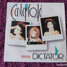 "Discos de vinilo: CENTERFOLD – DICTATOR, VINILO,7"" SINGLE 1986 SPAIN 888 127-7. Lote 293740853"
