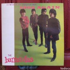 Discos de vinilo: BARRACUDAS–(I WISH IT COULD BE) 1965 AGAIN. LP VINILO EDICIÓN FRANCE 1985. BUEN ESTADO. Lote 293742428