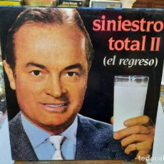 Discos de vinilo: SINIESTRO TOTAL II (EL REGRESO) - LP. SELLO DRO 1983. Lote 293751153