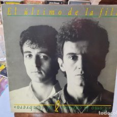 Discos de vinilo: EL ÚLTIMO DE LA FILA - COMO LA CABEZA AL SOMBRERO - LP. SELLO PDI 1988. Lote 293751858