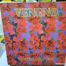 Discos de vinilo: VENENO - EL PUEBLO GUAPEAO - LP. SELLO TWINS 1989. Lote 293752378