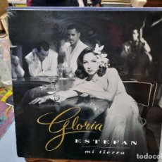 Discos de vinilo: GLORIA ESTEFAN - MI TIERRA - LP. SELLO EPIC 1993. Lote 293754043