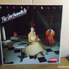 Discos de vinilo: THE CONTINENTALS ---- FOR YOU BABY. Lote 293754118