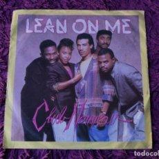 """Discos de vinilo: CLUB NOUVEAU – LEAN ON ME ,VINILO ,7"""" SINGLE 1987 GERMANY 928 430-7. Lote 293756808"""