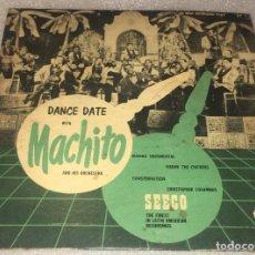 Discos de vinilo: EP DANCE DATE WITH MACHITO AND HIS AFRO CUBANS - MAMBO SENTIMENTAL Y OTROS TEMAS - PEDIDO MINIMO 7€. Lote 293758483