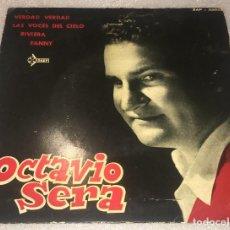 Discos de vinilo: EP OCTAVIO SERA - VERDAD VERDAD Y OTROS TEMAS - SAEF SAP55058 - PEDIDO MINIMO 7€. Lote 293761228