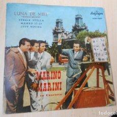 Discos de vinilo: MARINO MARINI Y SU CUARTETO - DEL FILM: LUNA DE MIEL -, EP, HONEYMOON + 3, AÑO 1959. Lote 293770468