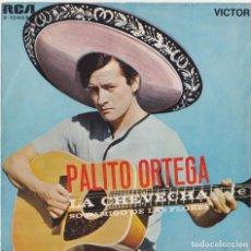 Discos de vinilo: PALITO ORTEGA - LA CHEVECHA. Lote 293776698