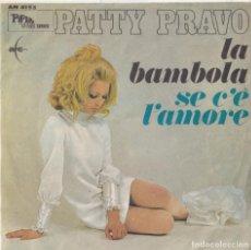 Discos de vinilo: PATTY PRAVO - LA BAMBOLA (EDITADO EN ITALIA). Lote 293779058