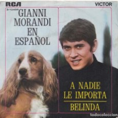 Discos de vinilo: GIANNI MORANDI - BELINDA (CANTA EN ESPAÑOL). Lote 293779258