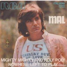Discos de vinilo: MAL - MIGHTY MIGHTY ROLY POLY (EDITADO EN ITALIA). Lote 293780413