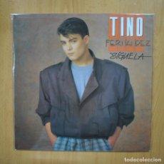 Discos de vinilo: TINO FERNANDEZ - SIGUELA - PROMO LP. Lote 293783583