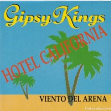 Discos de vinilo: GIPSY KINGS - HOTEL CALIFORNIA (EDITADO EN FRANCIA). Lote 293783613