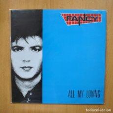 Discos de vinilo: FANCY - ALL MY LOVING - LP. Lote 293783723