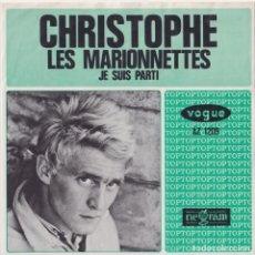 Discos de vinilo: CHRISTOPHE - LES MARIONNETTES (EDITADO EN HOLANDA). Lote 293784848