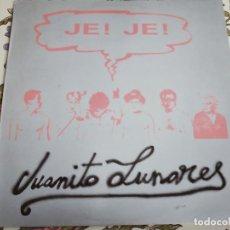 """Discos de vinilo: JE! JE! - JUANITO LUNARES (12"""", MAXI) 1987.SELLO:G.B.B.S. RECORD. N.º: 2-002.NUEVO.MINT / NEAR MINT. Lote 293789608"""