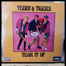 Discos de vinilo: D. LPS. TEDDY & TIGERS. TEAR IT UP. 1978.. Lote 293799963