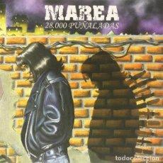 Discos de vinilo: LP MAREA 28.000 PUÑALADAS VINILO + CD. Lote 293800633