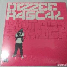 Discos de vinilo: DIZZEE RASCAL/MATHS + ENGLISH/DOBLE LP.. Lote 293801663