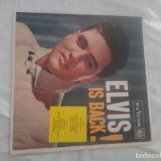 Discos de vinilo: LP ELVIS IS BACK! VINILO ORIGINAL 1960 FULL LIVING STEREO. Lote 293809618