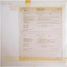 Discos de vinilo: PETULA CLARK - A PARIS - LP UK TEST PRESSING 1968 - DISQUES VOGUE VRLS 3035. Lote 293813288