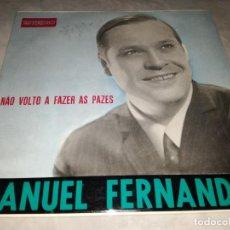 Discos de vinilo: MANUEL FERNANDES-NAO VOLTO A FAZER AS PAZES. Lote 293817758