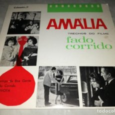 Discos de vinilo: AMALIA RODRIGUES-TRECHOS DO FILME FADO CORRIDO. Lote 293817973