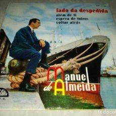 Discos de vinilo: MANUEL DE ALMEIDA-FADO DA DESPEDIDA-FIRMADO POR EL ARTISTA. Lote 293819423