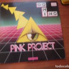 Discos de vinilo: PINK PROJECT DOMINO. Lote 293819623