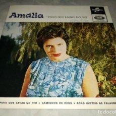 Discos de vinilo: AMALIA RODRIGUES-POVO QUE LAVAS NO RIO. Lote 293819638