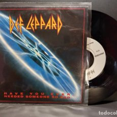 Discos de vinilo: DEF LEPPARD HAVE YOU EVER NEEDED SOMEO…. SINGLE GERMANY 1992 PDELUXE. Lote 293821418
