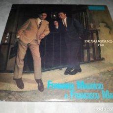 Discos de vinilo: FERNANDO MAURICIO E FRANCISCO MARTINHO-DESGARRADA. Lote 293821528