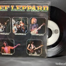 Discos de vinilo: DEF LEPPARD WASTED SINGLE 1979 SPAIN PDELUXE. Lote 293822088