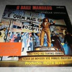 Discos de vinilo: HENRIQUE SANTANA-O BAILE MANDADO. Lote 293823363