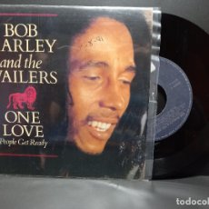 Discos de vinilo: BOB MARLEY AND THE WAILERS ONE LOVE SINGLE GERMANY 1991 PDELUXE. Lote 293824693