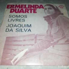 Discos de vinilo: ERMELINDA DUARTE-SOMOS LIVRES. Lote 293825788
