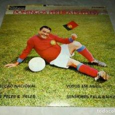 Discos de vinilo: DOMINGOS PEREIRA-SR.PELES. Lote 293826203