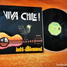 Discos de vinilo: INTI-ILLIMANI VIVA CHILE ! LP VINILO DEL AÑO 1977 GATEFOLD ESPAÑA MOVIEPLAY CONTIENE 12 TEMAS. Lote 293826213