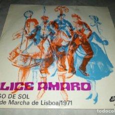 Discos de vinilo: ALICE AMARO-PINGO DE SOL. Lote 293827298