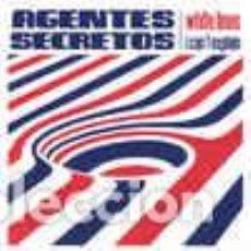 Discos de vinilo: AGENTES SECRETOS – WHITE LINES / I CAN´T EXPLAIN. Lote 293827728