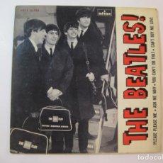 Discos de vinilo: THE BEATLES-ODEON-PLEASE PLEASE ME-ASK ME WHY-YOU CAN'T DO THAT-CAN'T BUY ME LOVE-VER FOTOS-(K-4376). Lote 293835548
