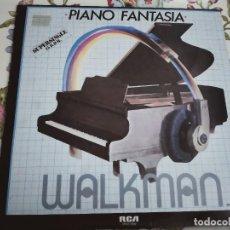 """Discos de vinilo: PIANO FANTASIA – WALKMAN. 1983. SELLO: RCA – SPCO-7402 . (12""""), NUEVO. MINT / VG+++. Lote 293841078"""