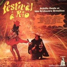 Discos de vinilo: ACHILLE OVALE ET SON ORCHESTRE BRESILIEN - FEST0Y9IVAL A RIO. Lote 293860138