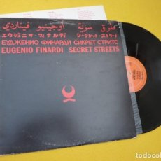 Discos de vinilo: LP EUGENIO FINARDI - SECRET STREETS - SPAIN - S90.679 (EX/EX++) 3. Lote 293872973
