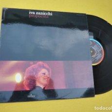 Discos de vinilo: LP IVA ZANNICCHI - PROPUESTA - SPAIN PRESS - CPS 9415 (M-/M-) 3. Lote 293874193