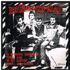 Discos de vinilo: LOS KING CRUELES - EL MOTORISTA DESCONOCIDO / TENGO ALGO / NO HAY ELECCION + 1 - EP 1985. Lote 293876128