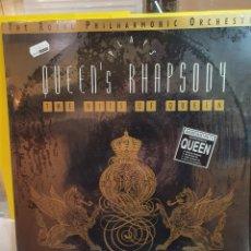 Discos de vinilo: QUEEN QUEEN'S PLAYS RHAPSODY LP 1991. Lote 293884863
