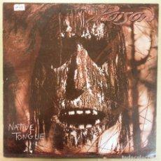 Discos de vinilo: POISON -NATIVE TONGUE. Lote 293886683